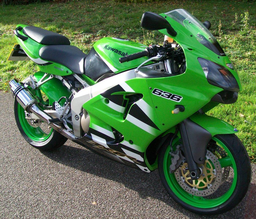 Kawasaki ZX-6R 600 cm³ 2003 - Siuntio - Moottoripyörä